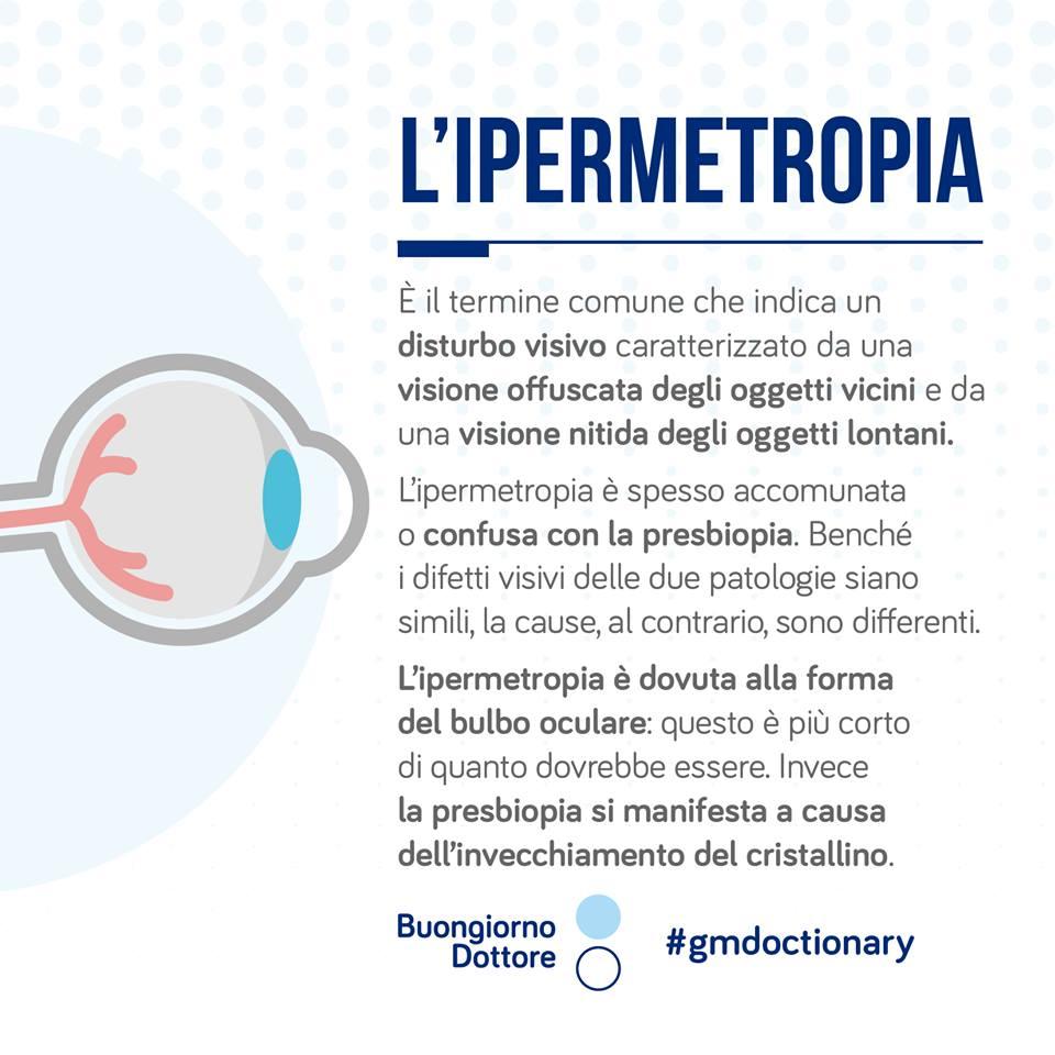 Ipermetropia o presbiopia