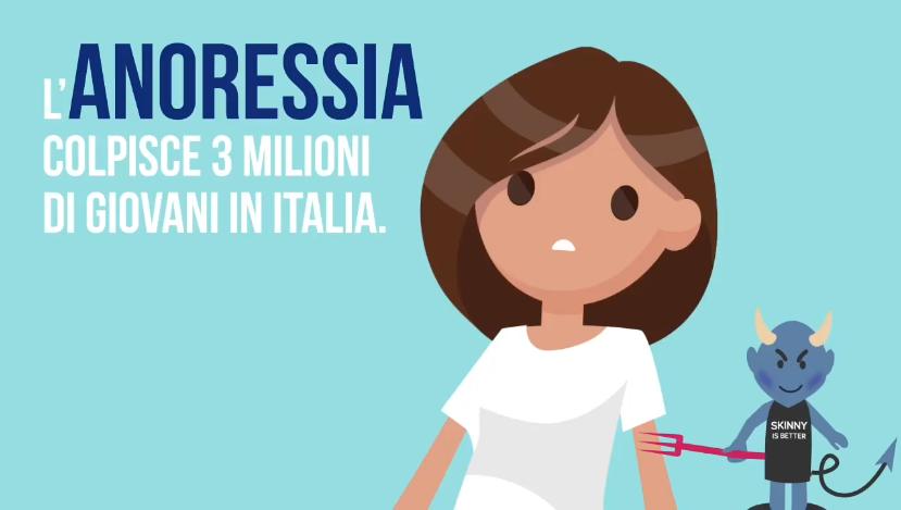 anoressia italia
